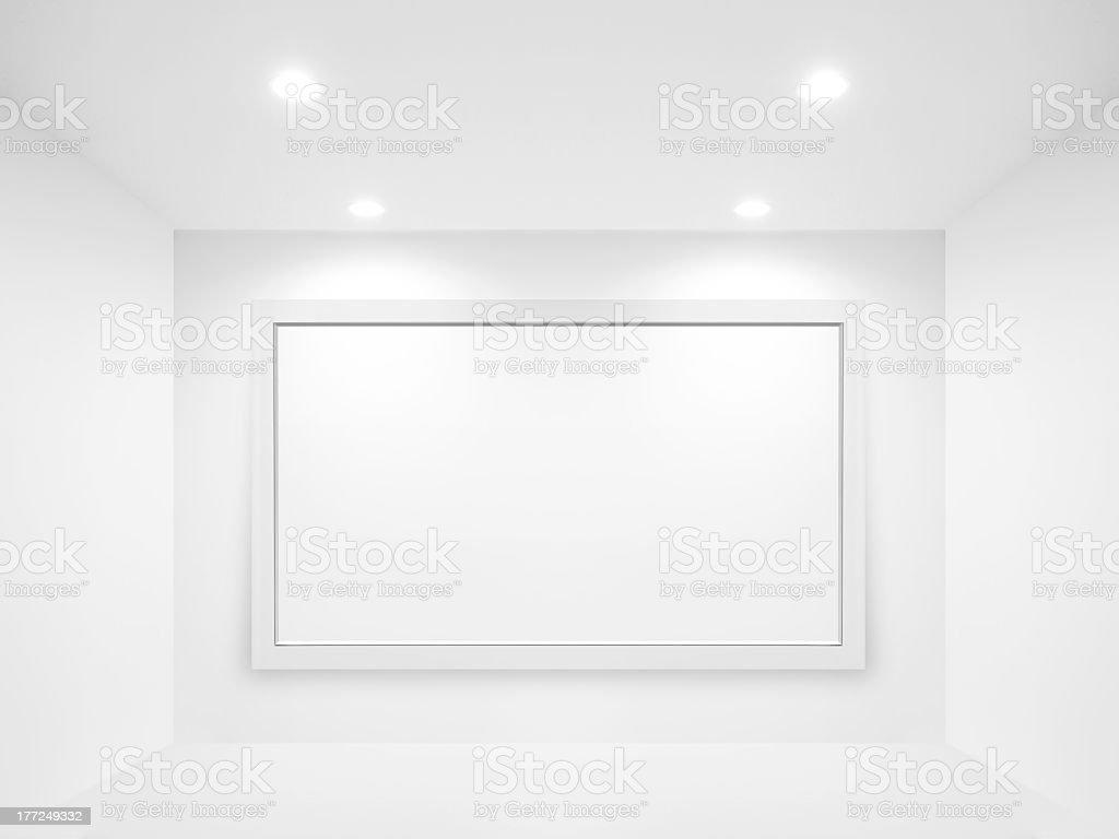 Пустой Рекламный щит стоковое фото