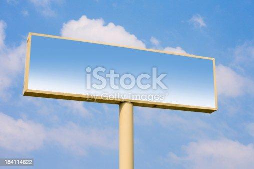 istock Blank Billboard 184114622
