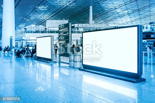 istock Blank billboard 474537314