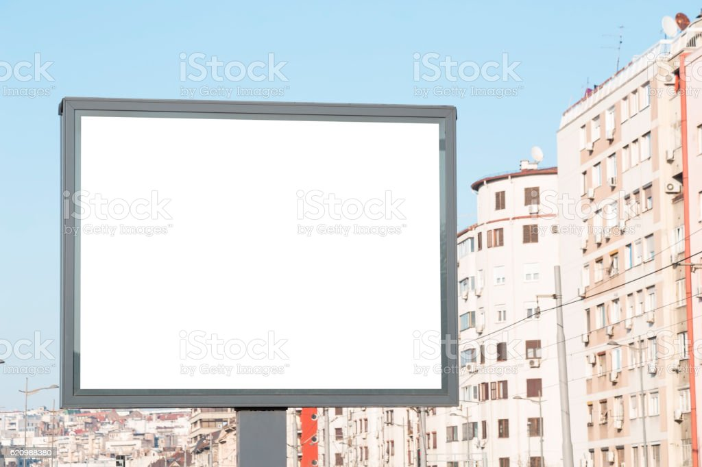 Blank billboard  foto royalty-free