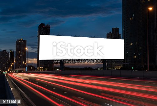 istock blank billboard 917119516