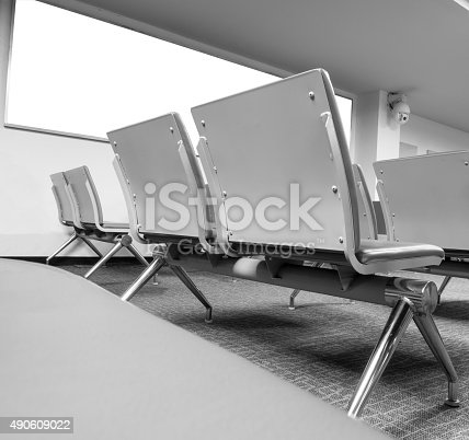 istock Blank billboard with clean space for text message or advertising 490609022