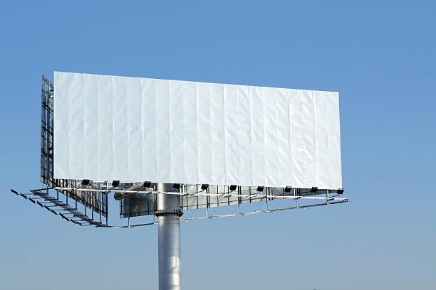 Blank Billboard - XXLarge stock photo