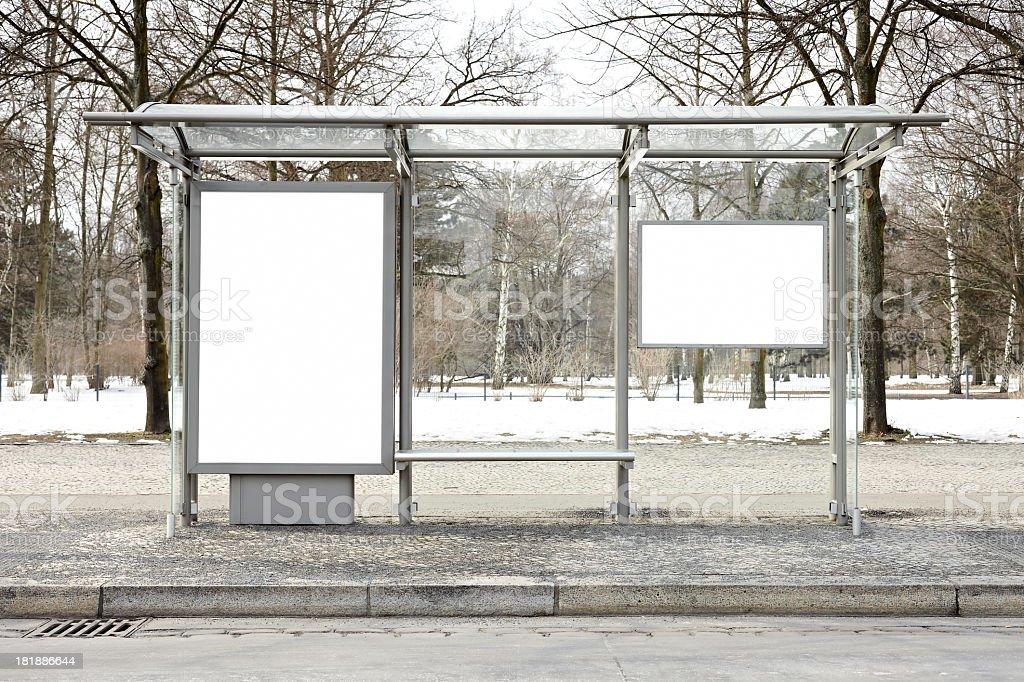 Blank Billboards XXXL stock photo