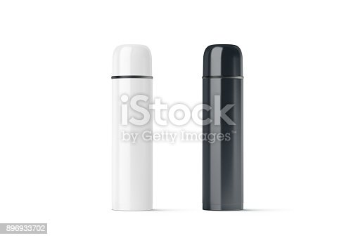 1129148925istockphoto Blank black and white closed travel thermos mock up 896933702