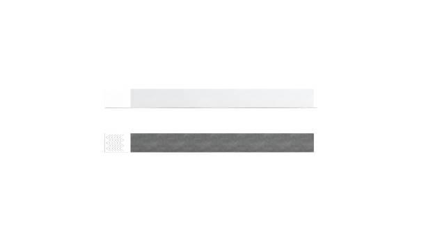 blank black and white paper wristband mock up - браслет стоковые фото и изображения