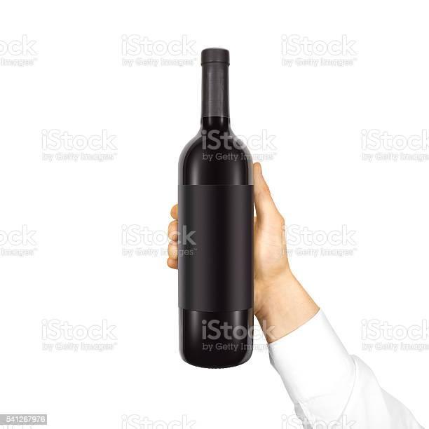 Blank black label mockup on bottle of red wine picture id541267976?b=1&k=6&m=541267976&s=612x612&h=rh3viocsozsj7hzrg5yrirfnridx8py5fpoene2 toy=