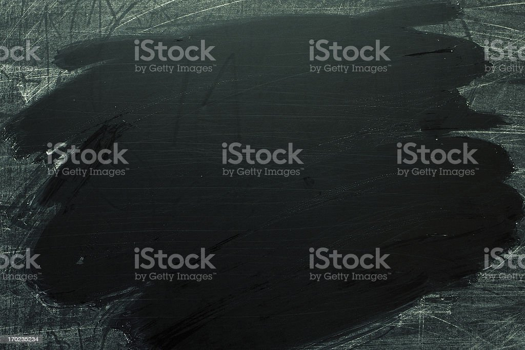 Blank Blackboard background textured stock photo