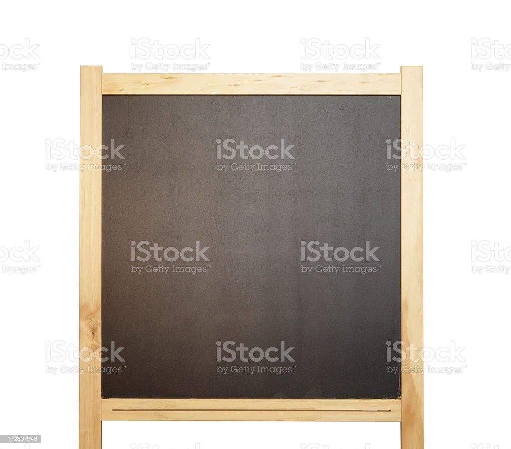 blank blackboard royalty-free stock photo