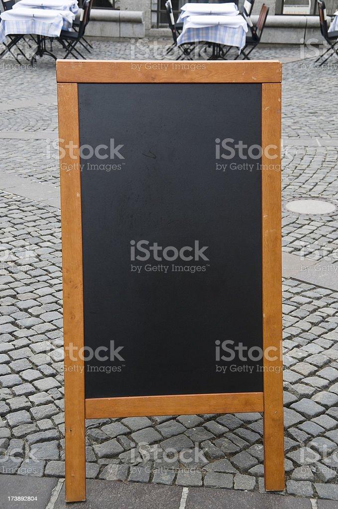 Vide Tableau noir - Photo