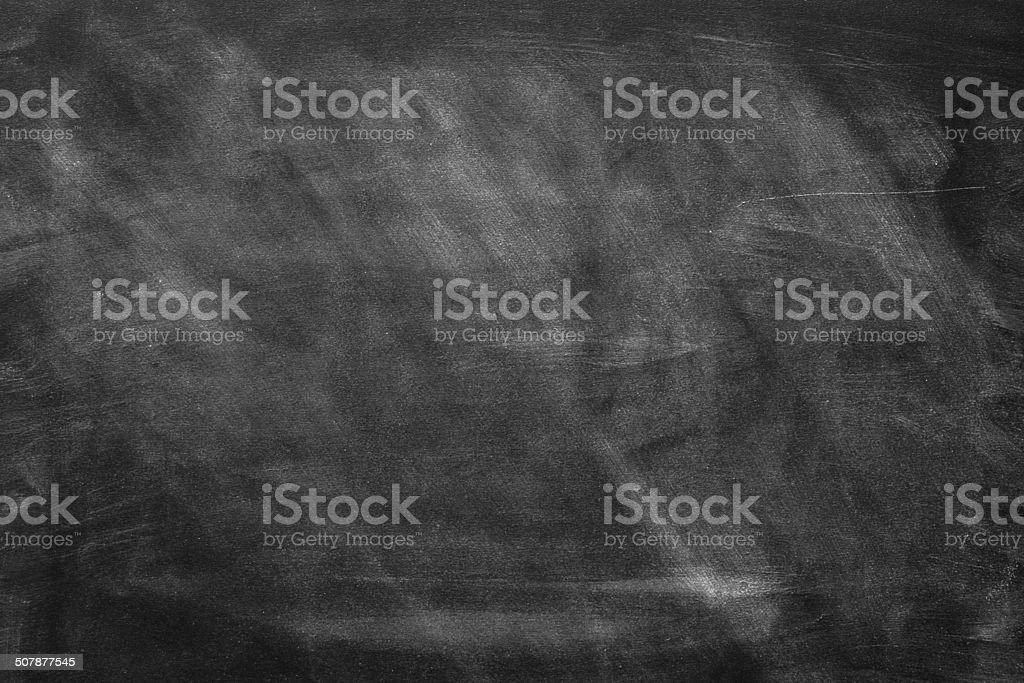 Blank Blackboard. stock photo