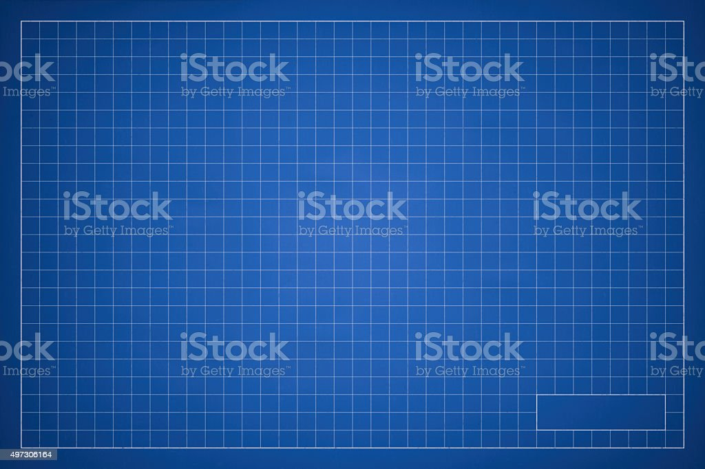 Blank blueprint grid background stock photo more pictures of 2015 blank blueprint grid background royalty free stock photo malvernweather Images