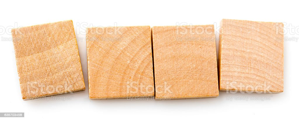 Blank Board Game Tiles stock photo