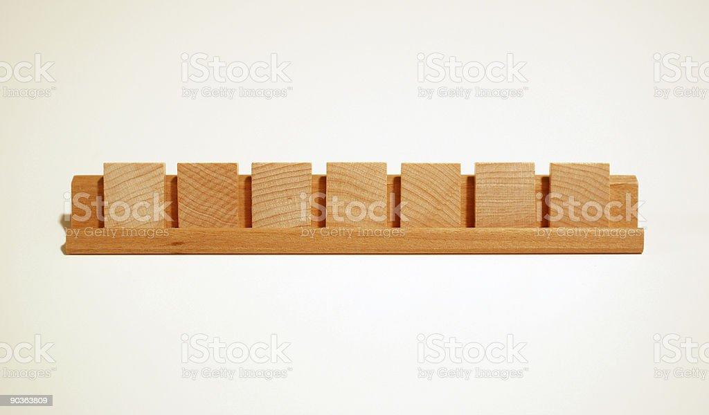Blank Board Game Tiles stock photo