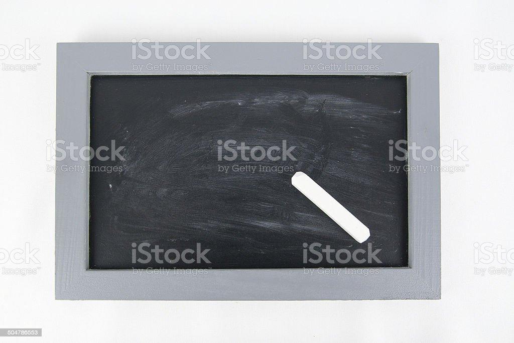 Leere Tafel stock photo