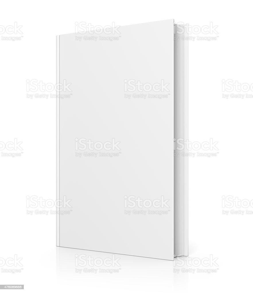 Leere Buch-cover isoliert auf weiss – Foto