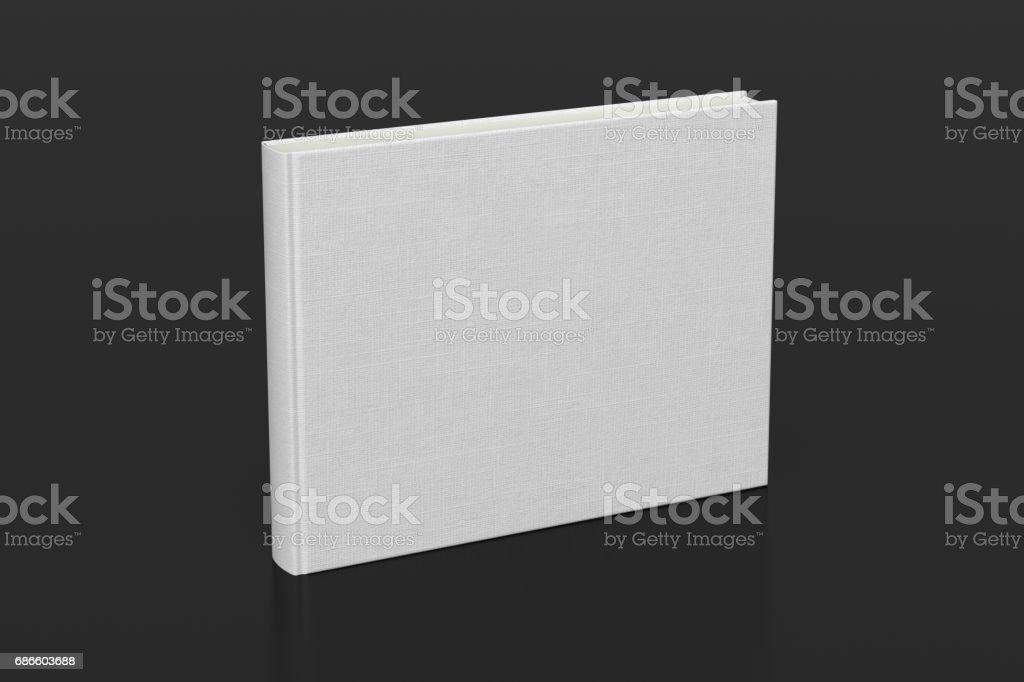 Maquette de couverture de livre blanc photo libre de droits