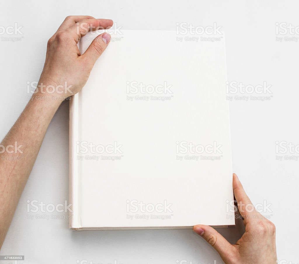 Blank book cover foto