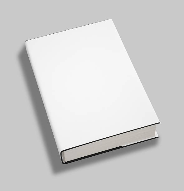 Blank book cover w clipping path Blank book white cover w clipping path hardcover book stock pictures, royalty-free photos & images