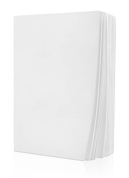 livro em branco em branco - brochura - fotografias e filmes do acervo