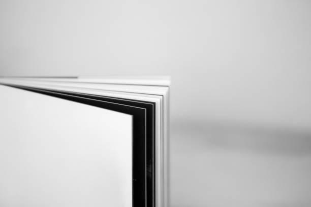 libro en blanco - gerardo huitrón fotografías e imágenes de stock