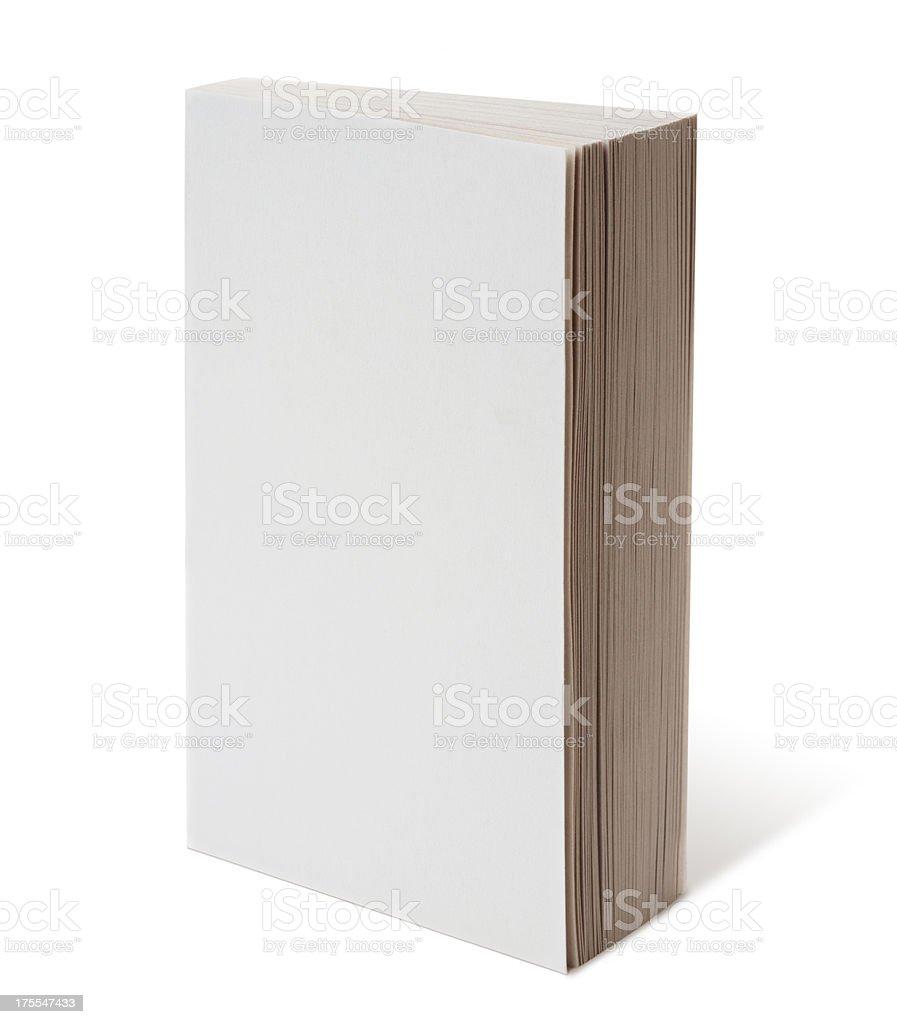 Libro blanco - foto de stock