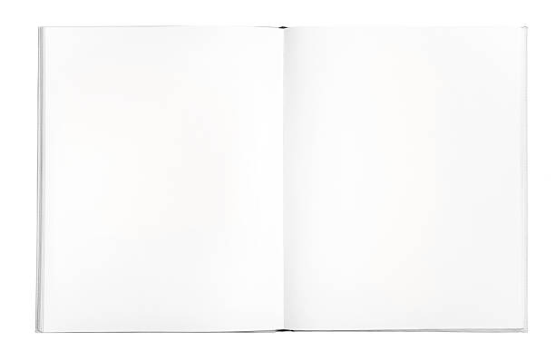 Blank book A blank book for storytellers estudio stock pictures, royalty-free photos & images