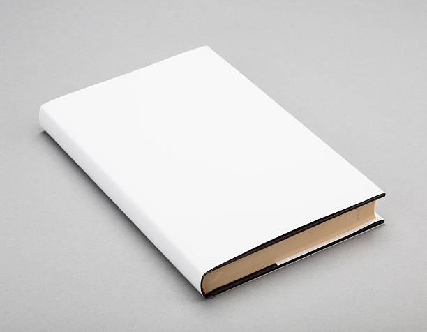 weiße leere buch cover 5,5 x 13 in - planner inserts stock-fotos und bilder