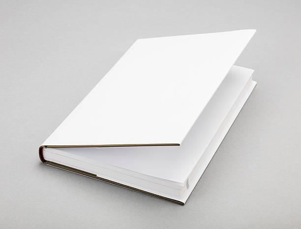 weiße leere buch cover 5,5 x 8,8 in - planner inserts stock-fotos und bilder
