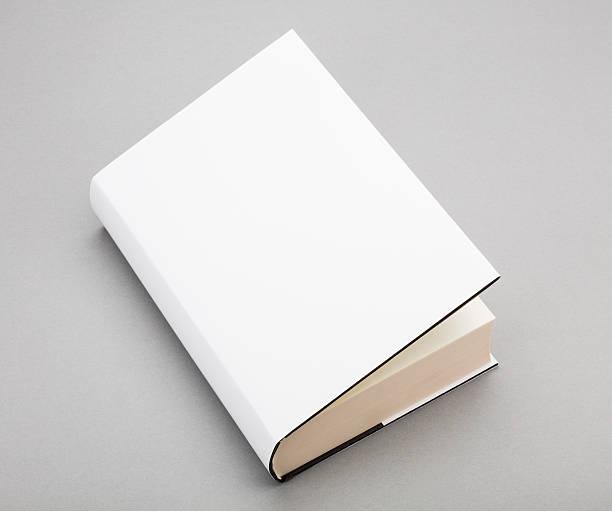 weiße leere buch cover 6 x 8,5 in - planner inserts stock-fotos und bilder