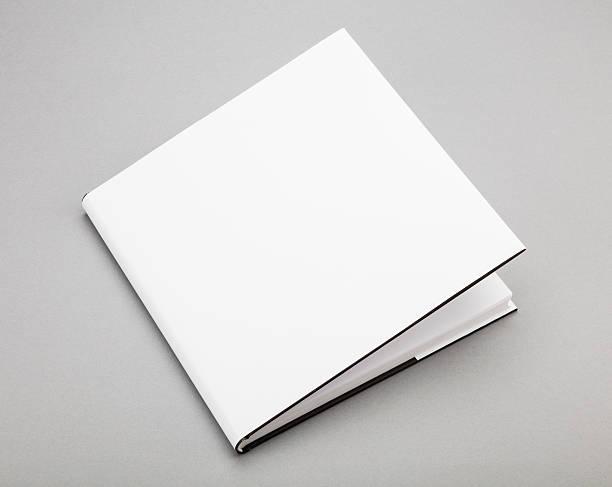 leeren buch cover weiß 8 x 13 in - planner inserts stock-fotos und bilder