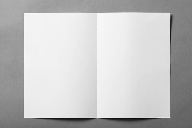 Blank booklet Blank booklet. workbook stock pictures, royalty-free photos & images