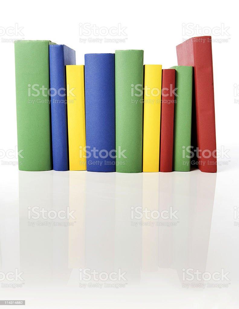 Blank books royalty-free stock photo