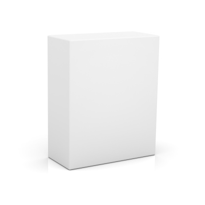 Blank box for new product