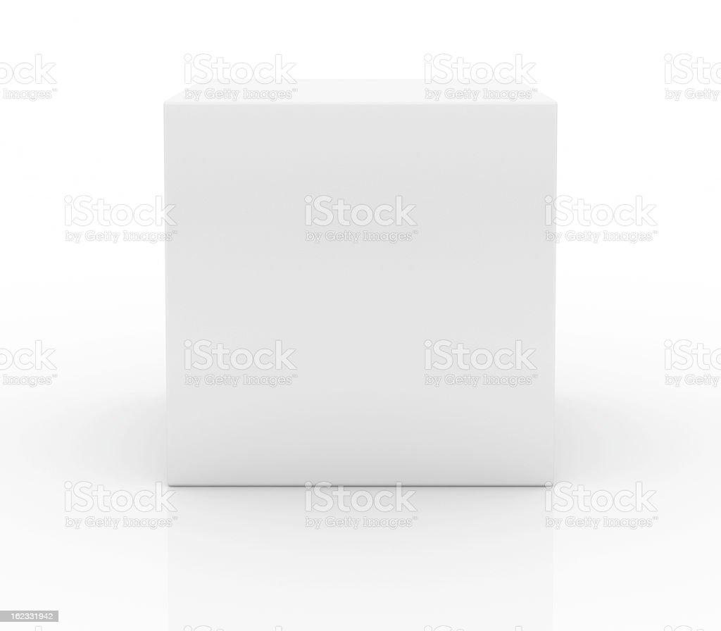 Em branco caixa - foto de acervo