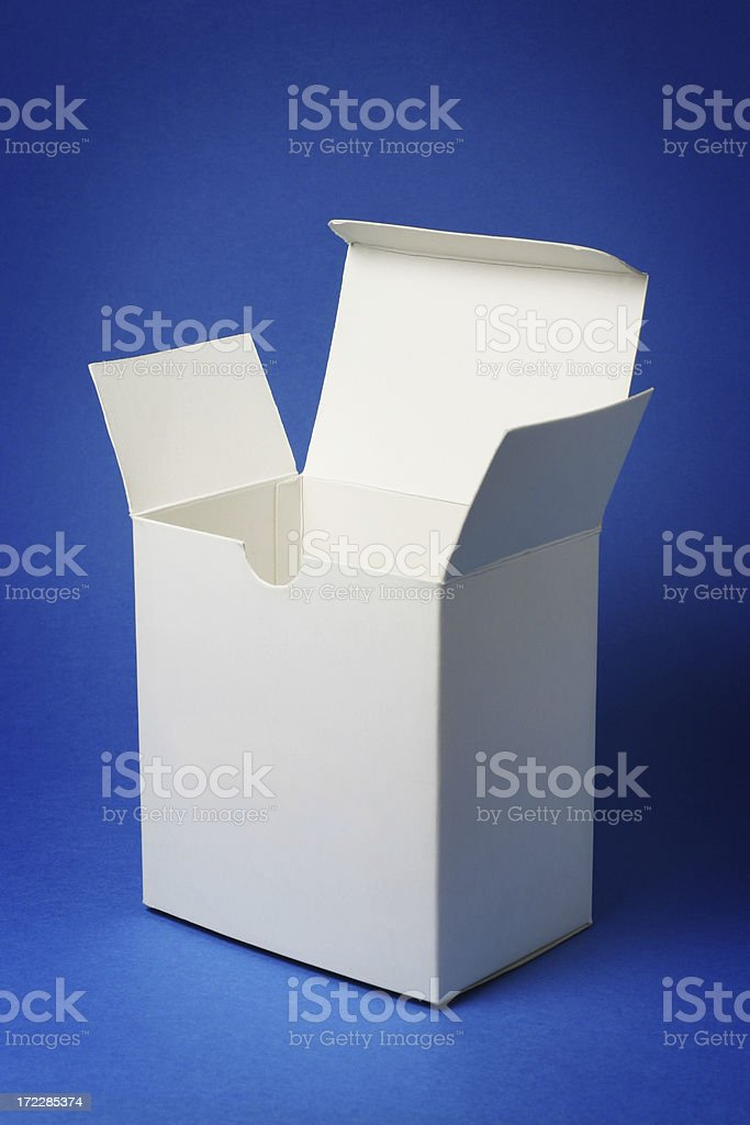 Blank Box royalty-free stock photo