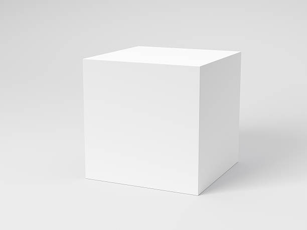 blank box - cube shape stock pictures, royalty-free photos & images