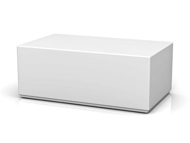 Boîte vide avec couvercle - Photo