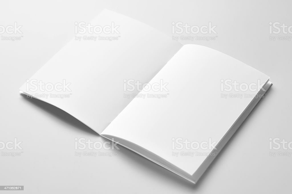 Manual del blanco - foto de stock