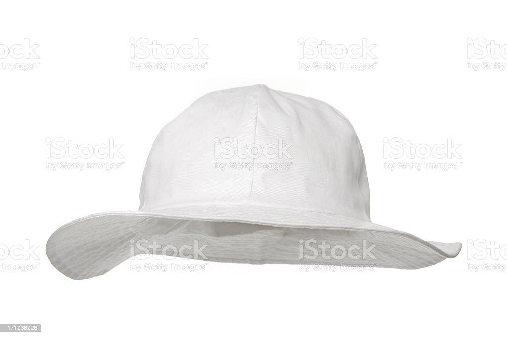 Blank bucket hat stock photo