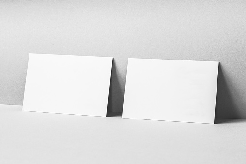 blank business cards mockup stock photo  download image