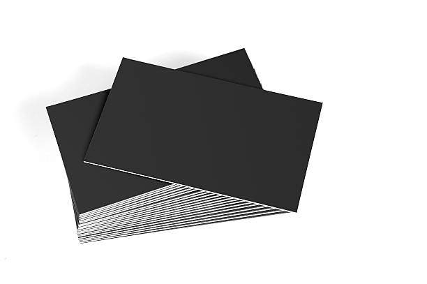 Royalty free black business cards pictures images and stock photos blank business cards stock photo colourmoves