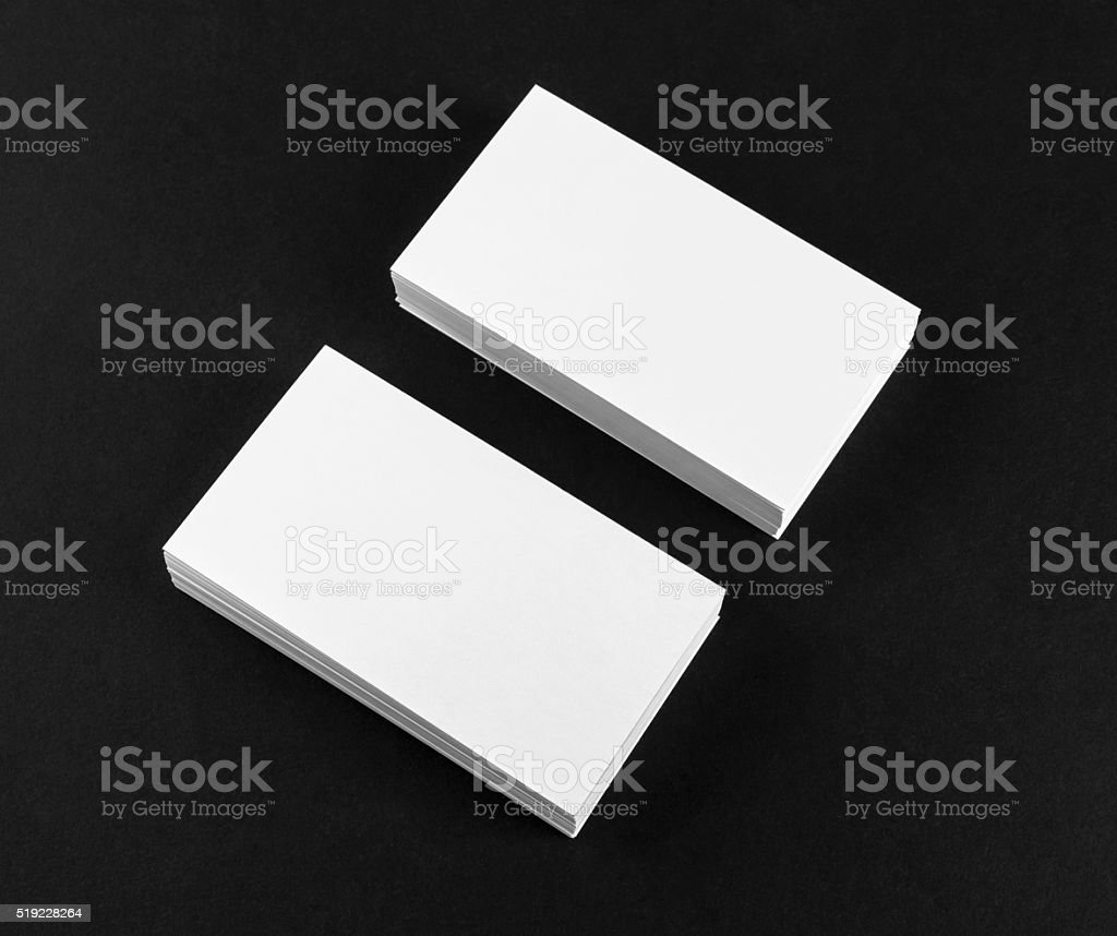 Blank business cards stock photo more pictures of advertisement blank business cards royalty free stock photo colourmoves