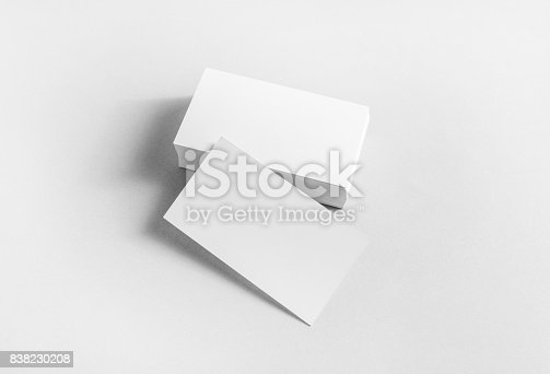 istock Blank business cards 838230208
