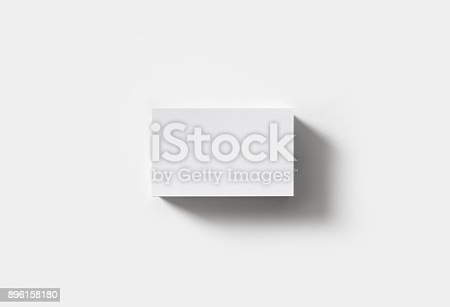 istock Blank business cards 896158180