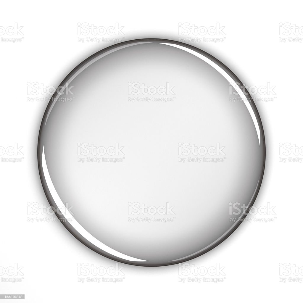 Blank button royalty-free stock photo