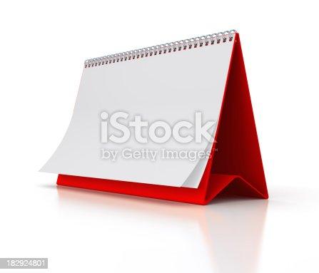 184357018 istock photo Blank Calendar 182924801
