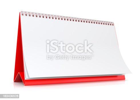 184357018 istock photo Blank Calendar 183406528