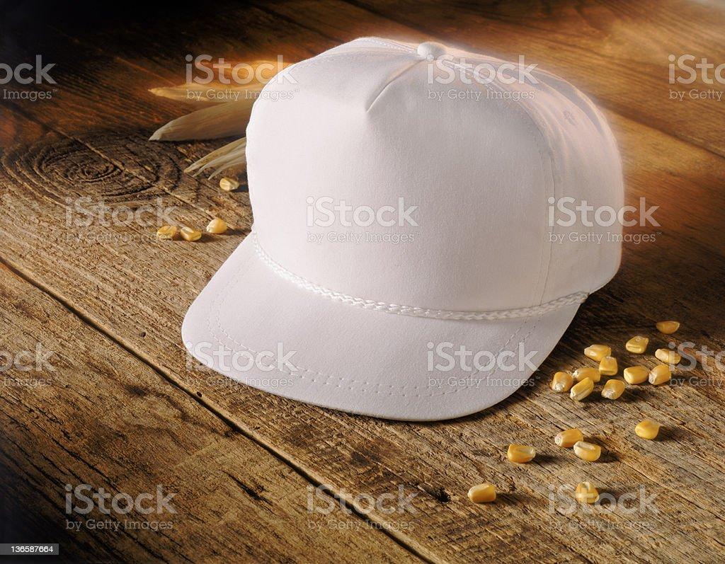 Blank Cap royalty-free stock photo
