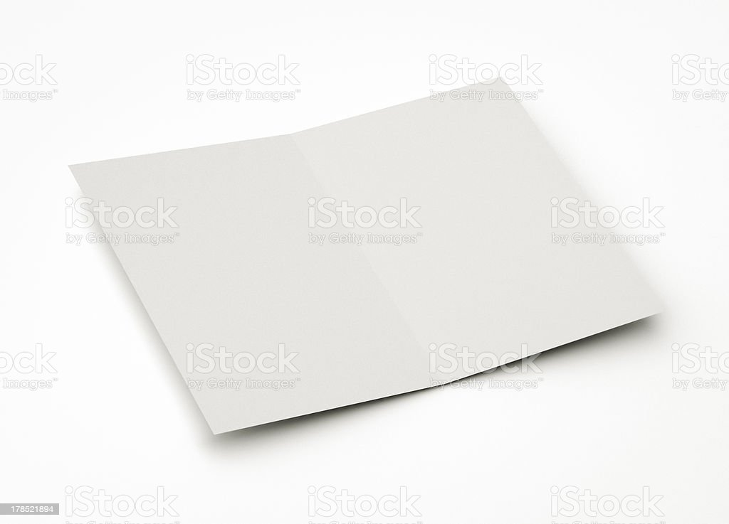 blank card for message royalty-free stock photo